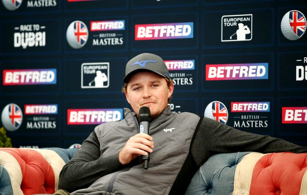 Pepperell excited ahead of Betfred British Masters title defence, © Getty Images