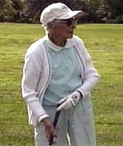 Elsie McLean - at 102, the oldest golfer ever to make a hole in one