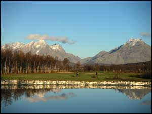 The world's most northerly 18-hole golf course - Tromso Golf Park