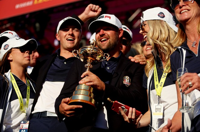 The United States won the Ryder Cup at Hazeltine in 2016 (David Davies/PA)