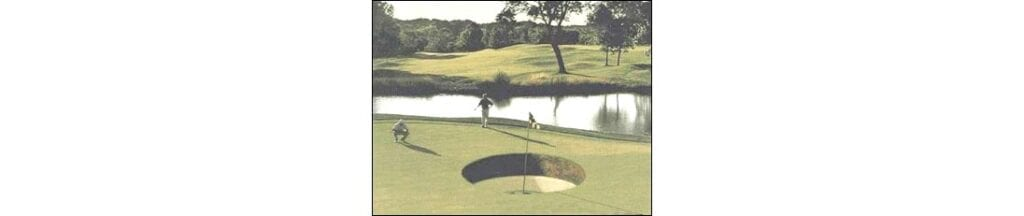 What size is the golf hole, and why? It's that size for a reason