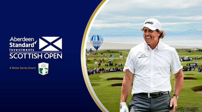 Mickelson brings Major appeal to Scotland, © Getty Images