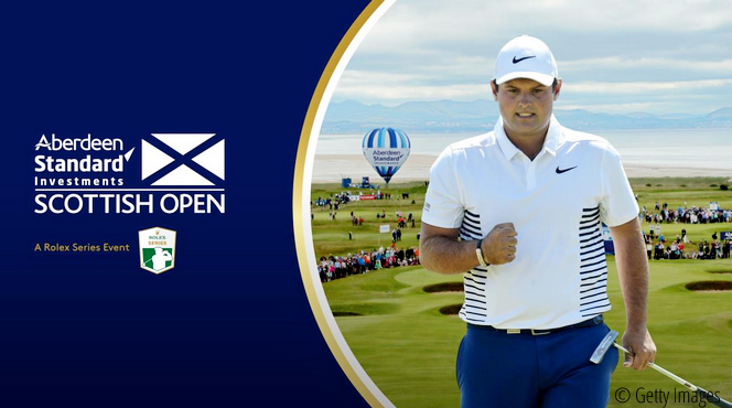 Reed aiming to master Gullane as he returns to the Aberdeen Standard Investments Scottish Open, © Getty Images