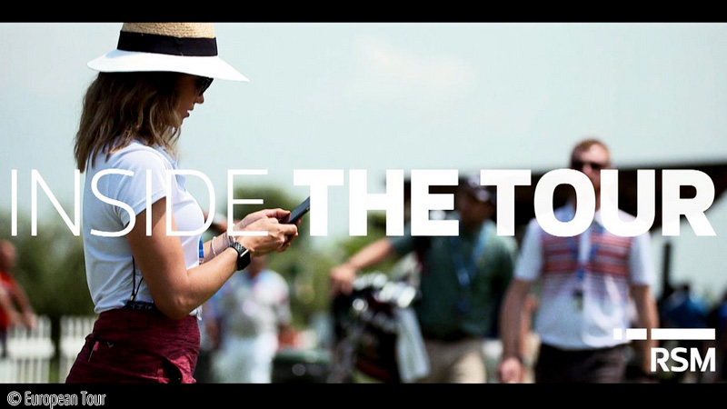 RSM and European Tour collaborate on behind-the-scenes feature series, © European Tour