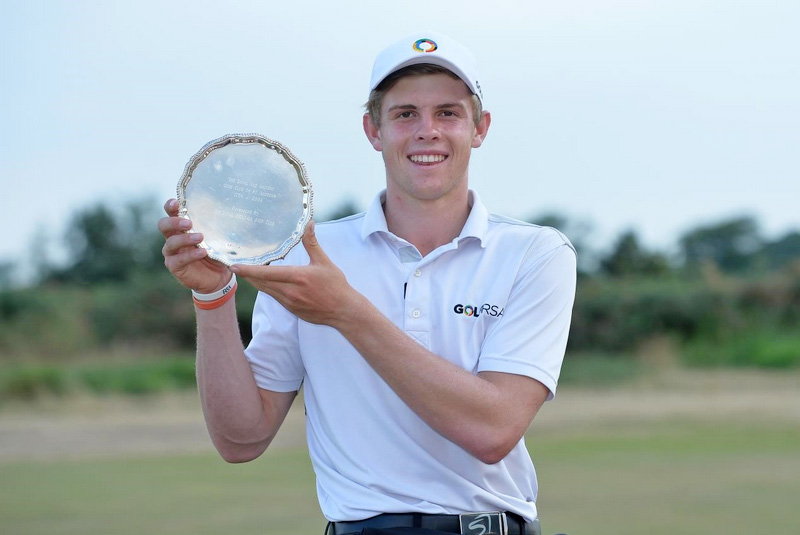 Martin Vorster claimshis first major international title in The Junior Open at St Andrews.