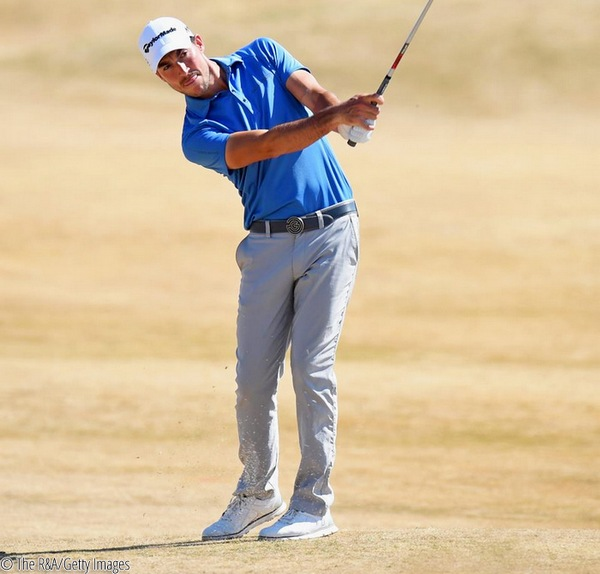James Robinson secured his place in The 147th Open at Carnoustie in Final Qualifying at St Annes Old Links today after coming through Regional Qualifying, © The R&A/Getty Images
