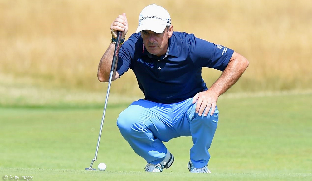 Paul McGinley, Legends go low at St Andrews, © Getty Images