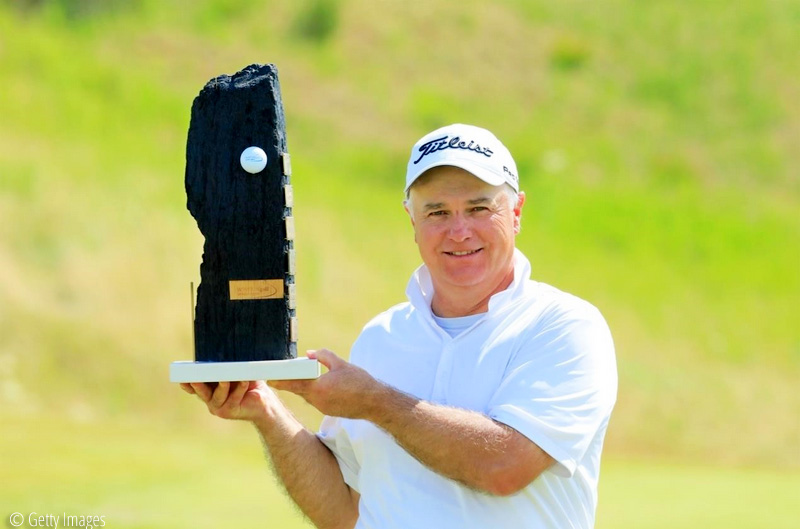 Stephen Dodd celebrated his 52nd birthday in style with a victory at the WINSTONgolf Senior Open, © Getty Images