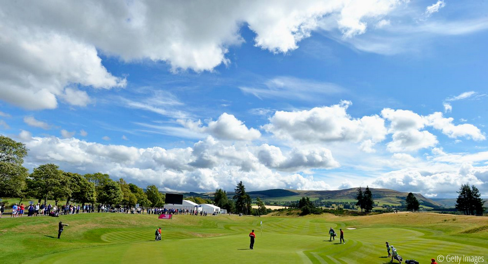Iceland impress on Day One at Gleneagles, © Getty Images