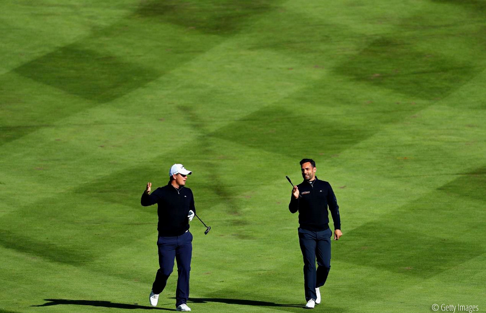 Callum Shinkwin and Lee Slattery, European Golf Team Championships, © Getty Images