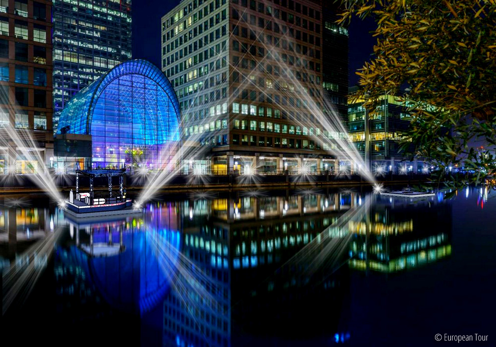 Canary Wharf to host the second edition of the 2018 Hero Challenge, © European Tour
