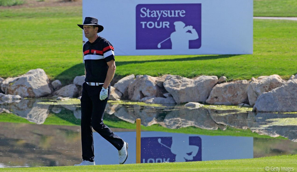 Tinning anticipating another great week at Travis Perkins Masters, © Getty Images