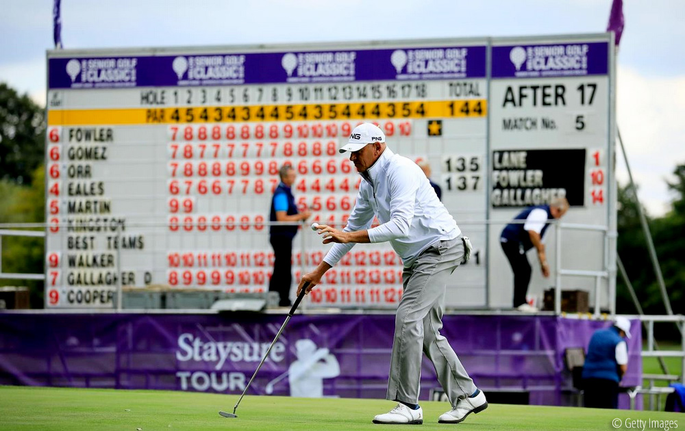 Peter Fowler, Kingston climbs into contention at Willow Senior Golf Classic, © Getty Images