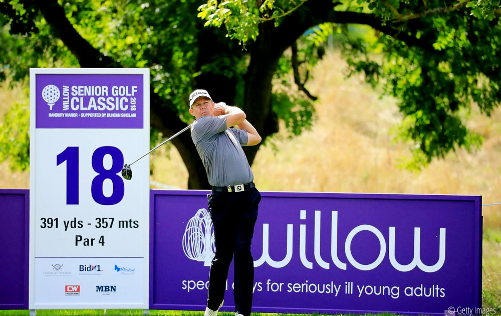 Kingston climbs into contention at Willow Senior Golf Classic, © Getty Images