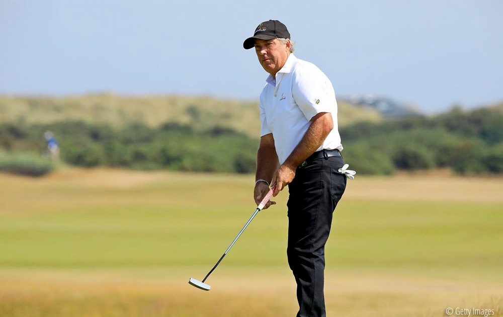 Barry Lane, Lane not resting on laurels ahead of Willow Senior Golf Classic defence, © Getty Images