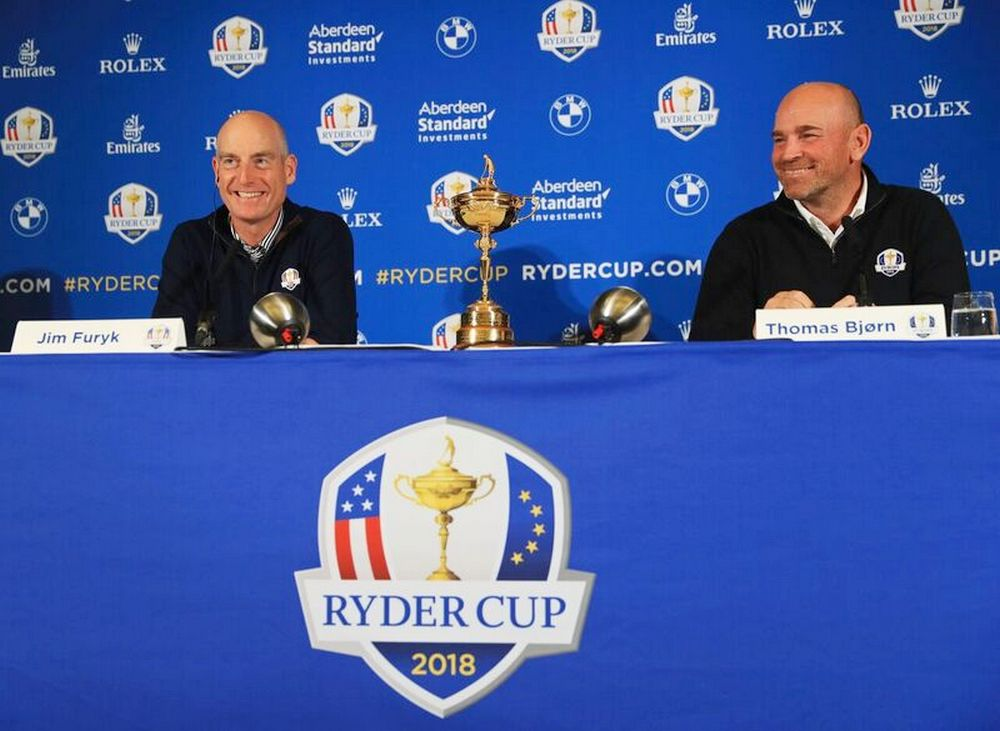 Ryder Cup 2018 Captains