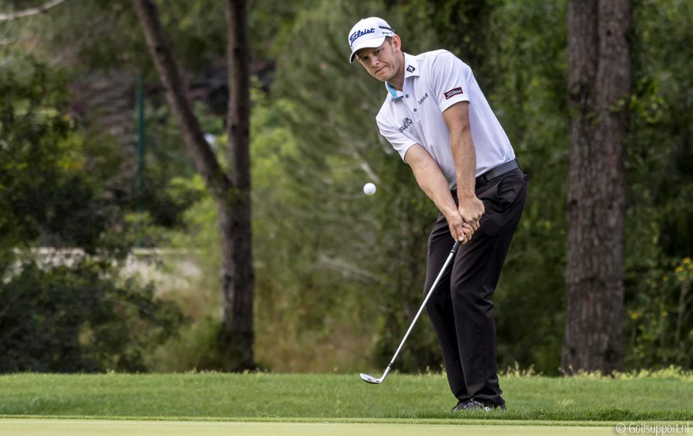 Hansen holds the lead in France, © Golfsupport.nl