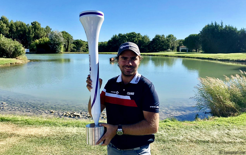 Langasque seals home victory in France, © European Tour