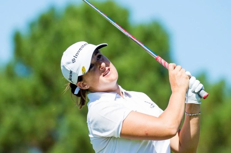 Nicole Garcia and Nanna Koerstz Madsen tied for lead heading into the weekend