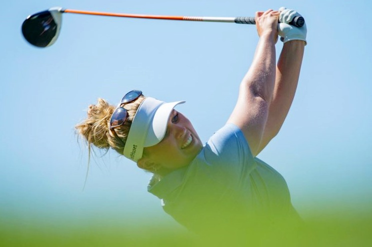 Nanna Koerstz Madsen takes solo lead into the final day at Golf du Medoc
