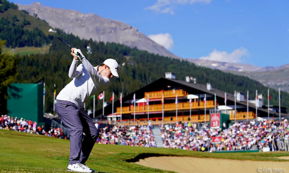 Fitzpatrick takes control in Crans, © Getty Images