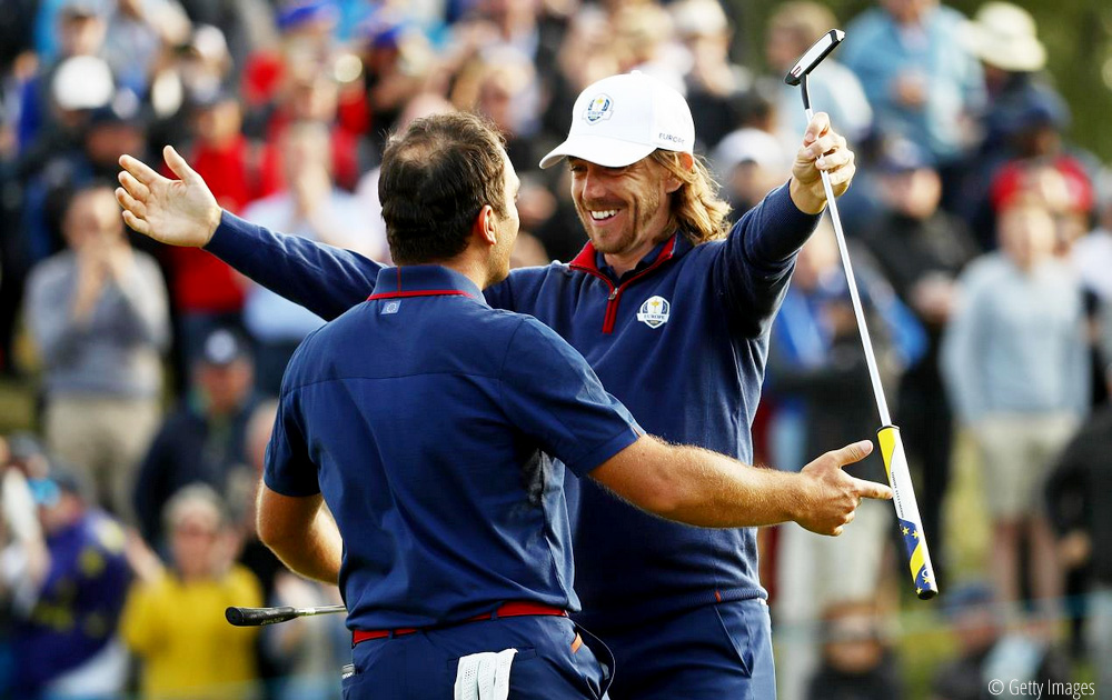 Europe dominate foursomes to lead at The Ryder Cup, © Getty Images