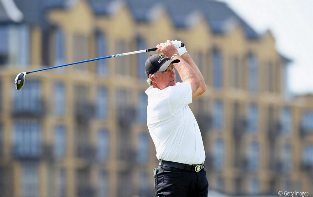 Lane leaning on fond experiences at Scottish Senior Open, © Getty Images