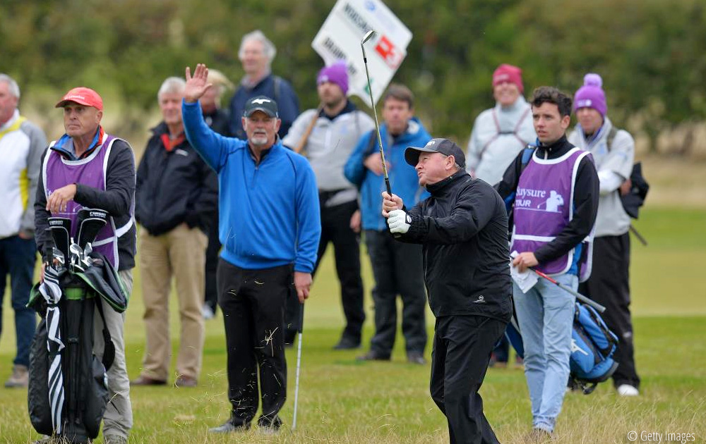 Woosnam in the hunt as Dodd leads at Craigielaw