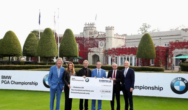 £350,000 raised for official charities at BMW PGA Championship, © Getty Images
