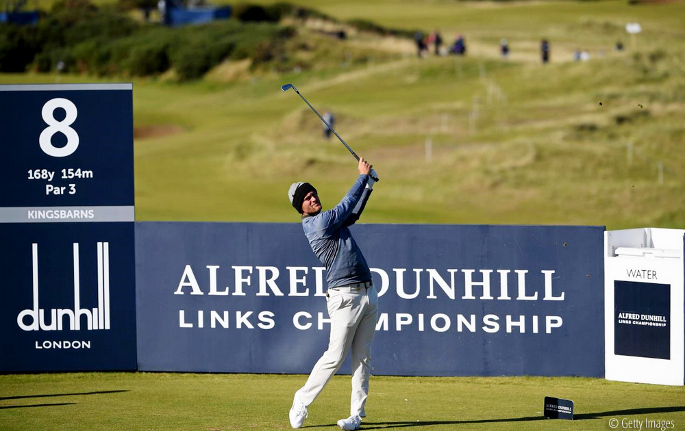 Bjerregaard and Pavan tied at the top in Scotland, © Getty Images