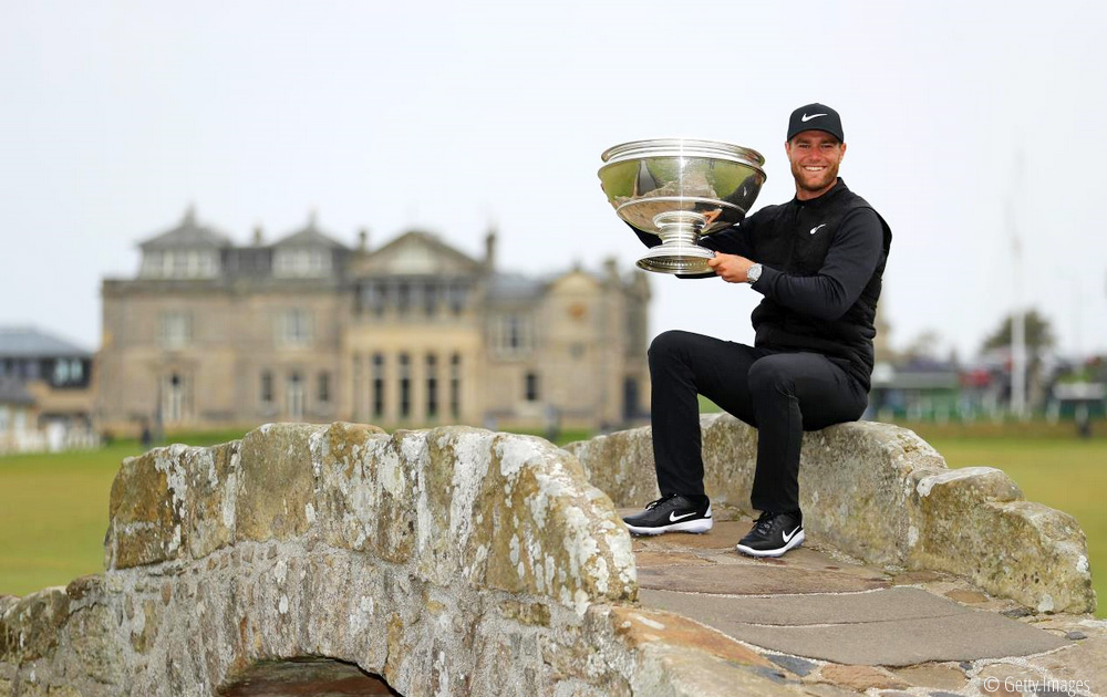 Bjerregaard battles back to win at The Home of Golf , © Getty Images