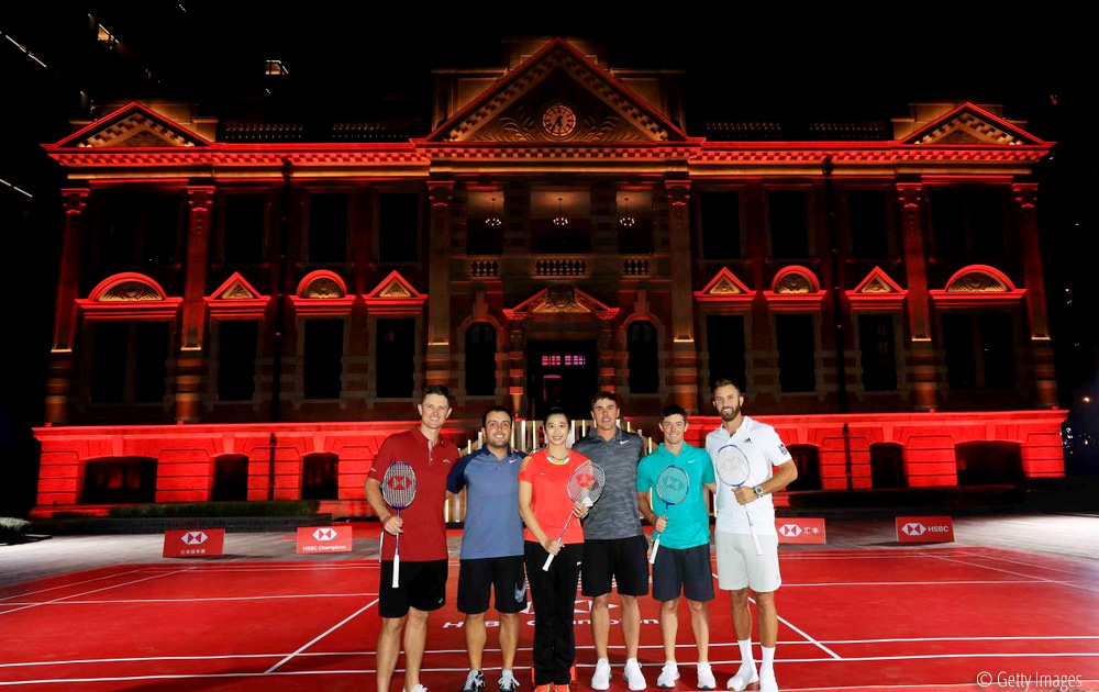 Golfers take aim at growing the sport with star-studded badminton showdown, © Getty Images