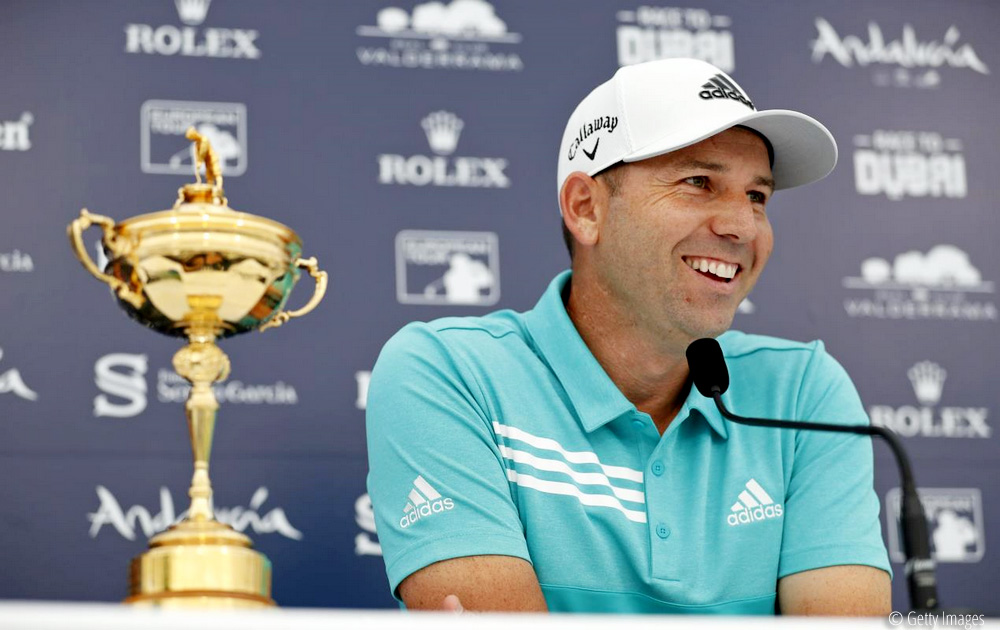 Garcia ready for another special week in Valderrama, © Getty Images