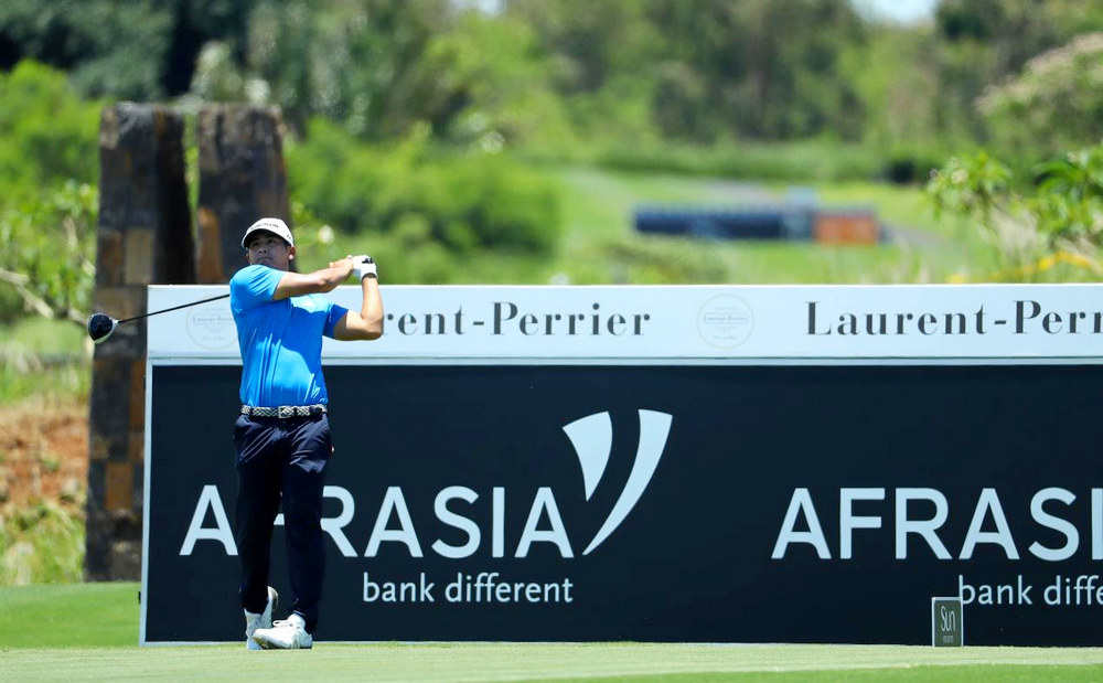 Kitayama takes the lead in Mauritius, © Getty Images