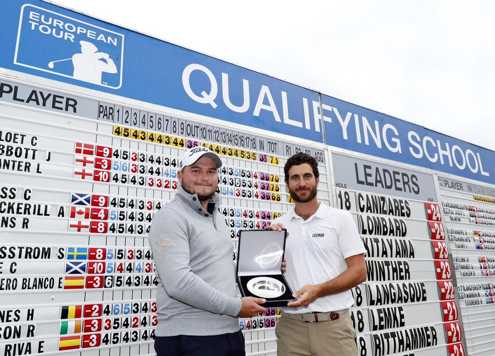 Lombard and Cañizares share top prize as 27 graduate to European Tour, © Getty Images