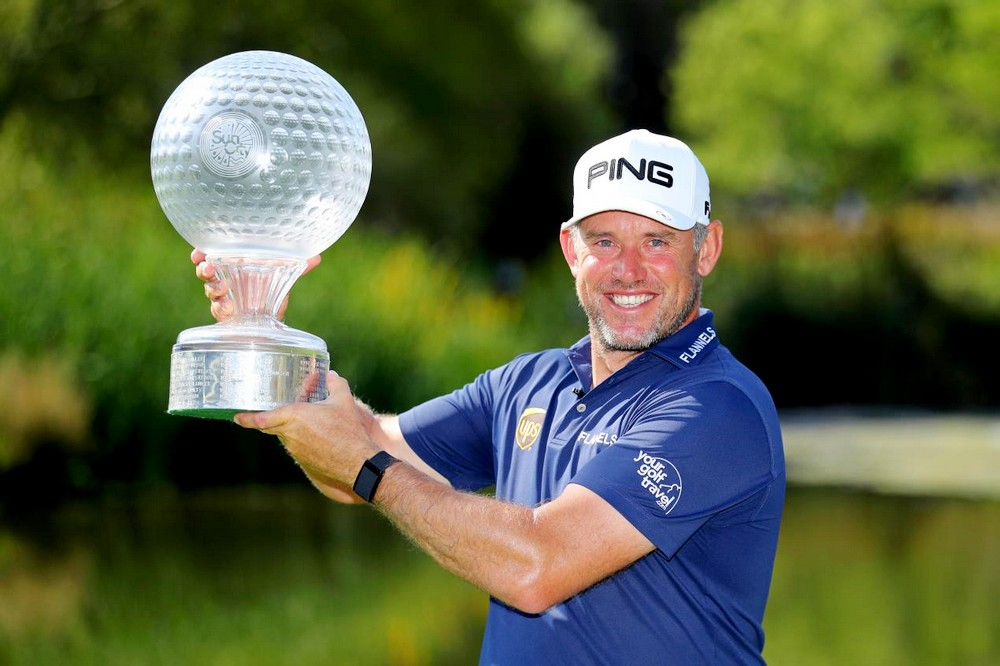 Westwood back in the winner's circle at Sun City, © Getty Images