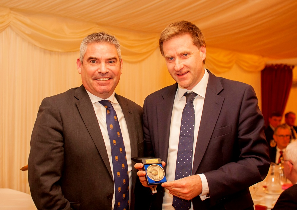 Brine recognised as Parliamentary Golfer of the Year
