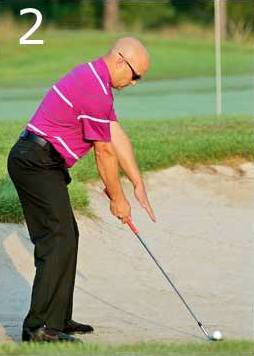 A fresh approach to bunker play...