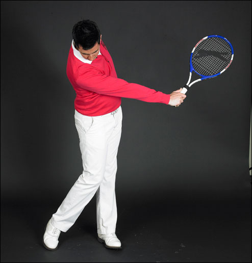 Cure your slice with the help of a topspin tennis shot - Two Minute Lesson