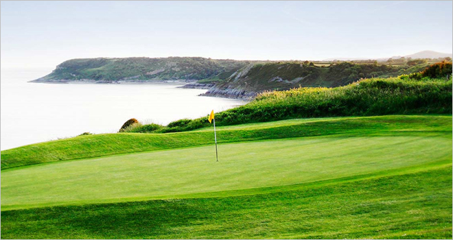 Langland Bay Golf Course, the Pebble Beach of Wales