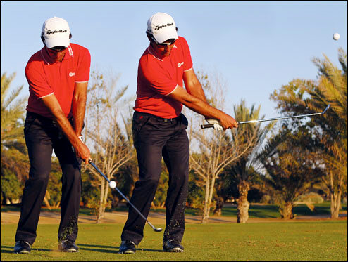 Hitting the Highs and Lows - High Flop Shot & Low Knock Down