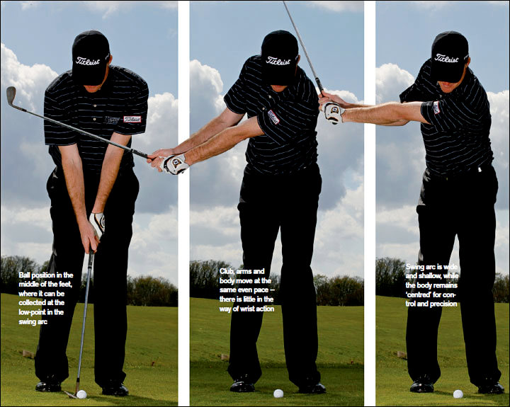 Perfect pitching - Get the moves like Stricker - Golf Today