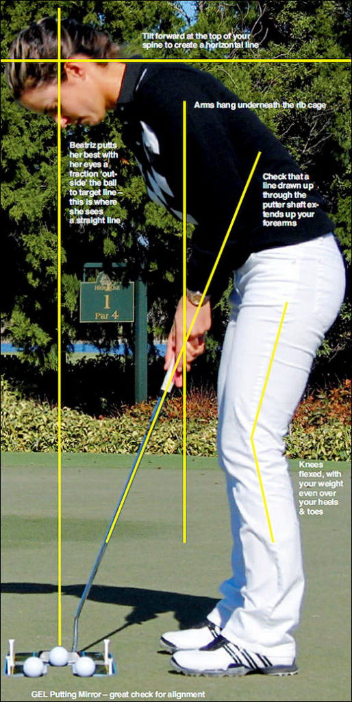 Posture is the key to putting