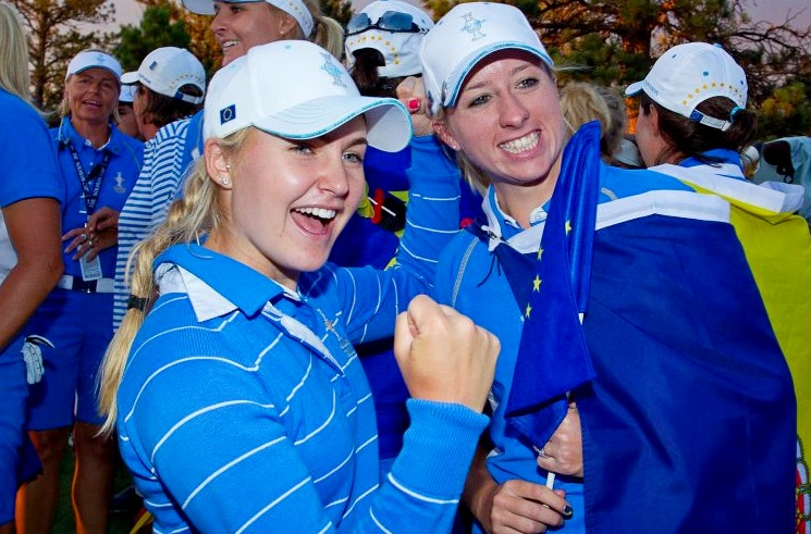 Charley Hull means business in 2019 Solheim Cup