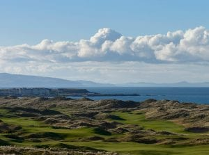 Brexit and the Open at Portrush, © Matthew Harris / TGPL
