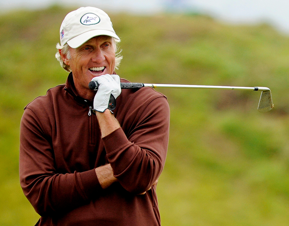 Greg NORMAN (AUS) during second round British Open, Royal Birkdale, Southport, Lancashire, England 18th July 2008.