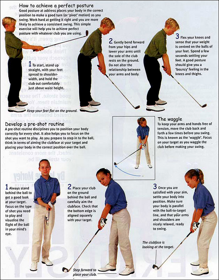 First Lessons - A Young Enthusiasts Guide to Golf