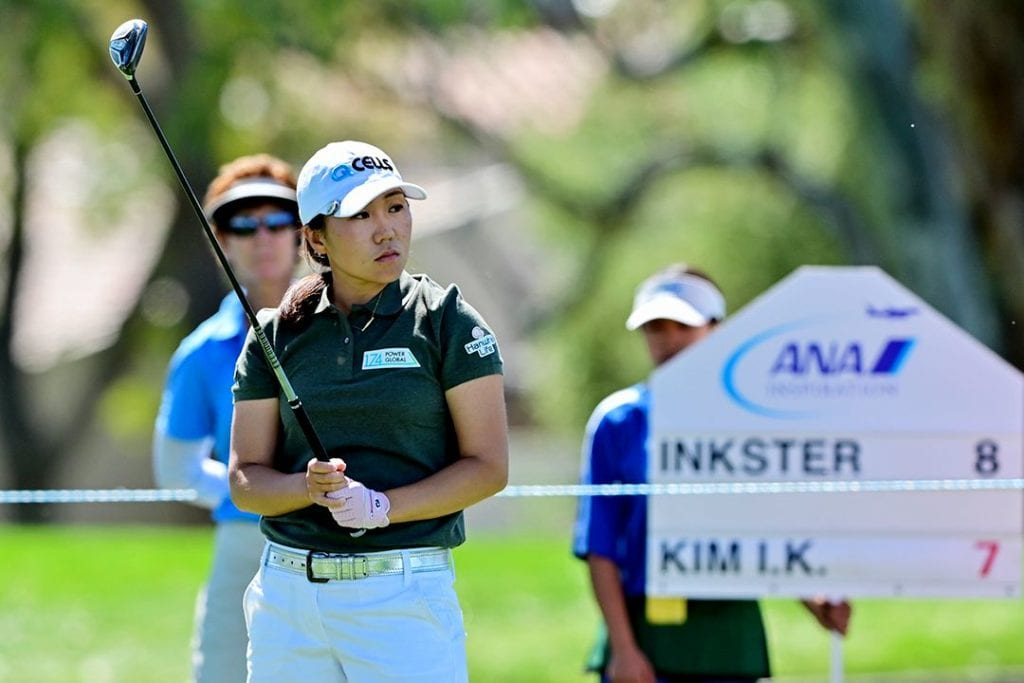 In-Kyung Kim takes 3-shot lead into the weekend, © Gabe Roux