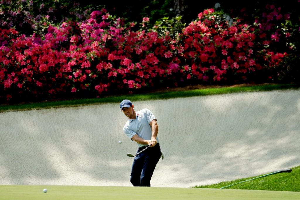 McIlroy has arrived at Augusta in top form