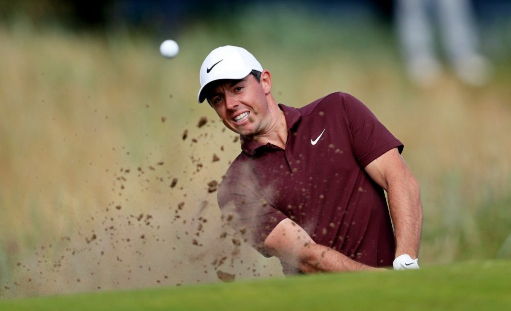 Rory McIlroy is in contention for the Masters